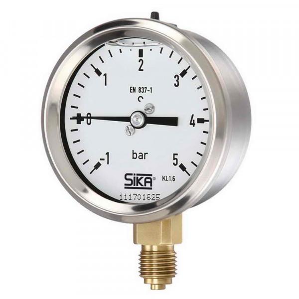 Pressure gauge 0 to 60 bar Ø 63mm