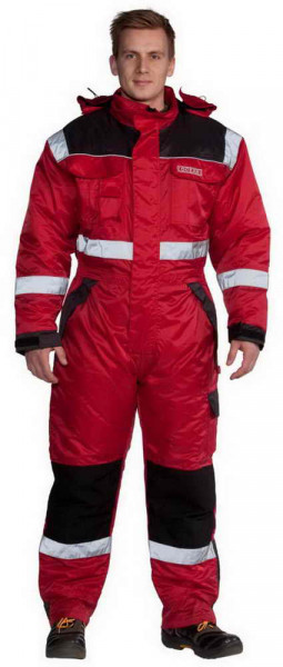 Ocean Winter thermo-overalls with reflex stripes