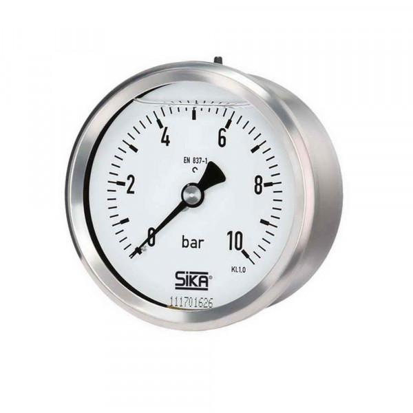 Manometer -1 bis 5-bar--80mm-Anschluss-hinten