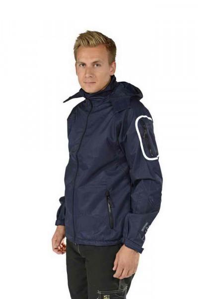 Ocean Men TECHSHELL jacket with hood