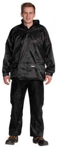 Ocean Light rain suit nylon 2-parts for travel